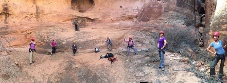 GuestGuide Team Rock Climbing Moab