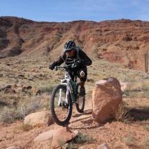 Biking Moab