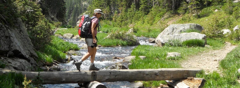 Susie Hiking Colorado - GuestGuide Publications