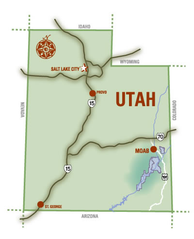 Colorado City Utah Map.Moab Maps National Parks Area Town Maps Biking More