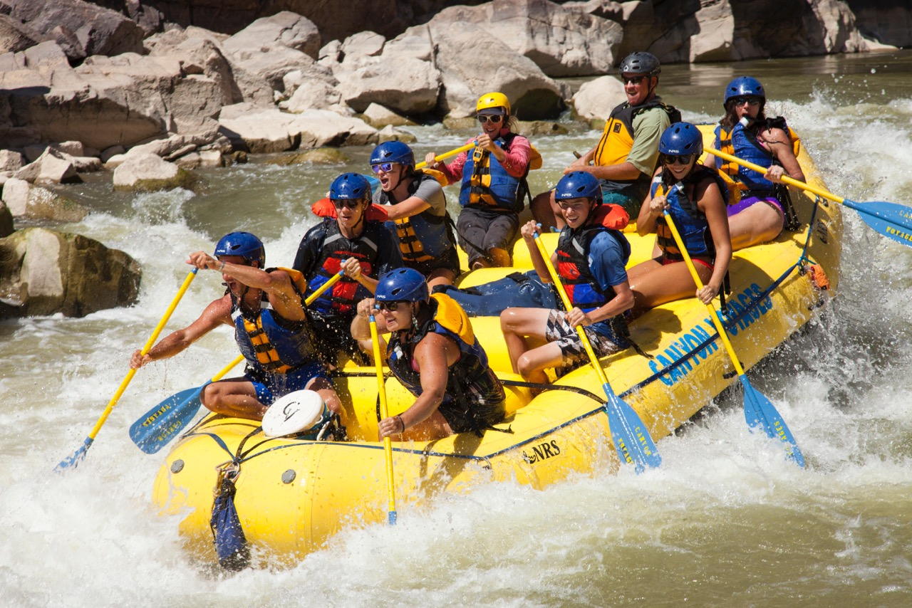 Whitewater Rafting In Moab